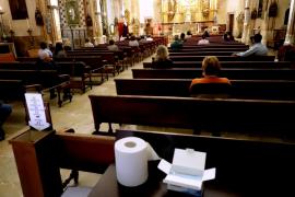 Misa en Palma en tiempos de pandemia