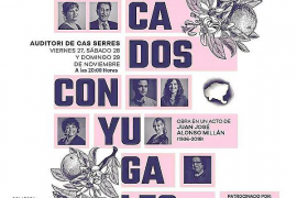 Triple cita en Cas Serres con los 'Pecados conyugales' de la compañía Arts i Oficis para el 18, 19 y 20 de diciembre