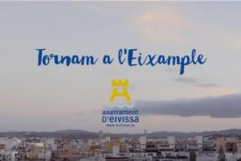 El Ayuntamiento de Vila anima con un spot a disfrutar del comercio de proximidad de l'Eixample