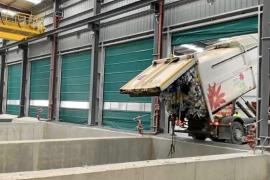 La planta de triaje de Ibiza ya está en fase de pruebas