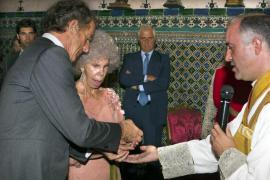 Los duques de Alba celebran  su primer aniversario de boda