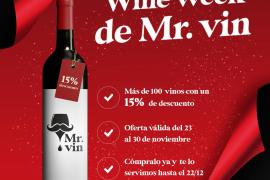 Mr. vin ofrece una gran selección de vinos a un click y con entrega rápida
