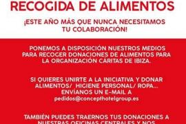 Cáritas Ibiza apela a la solidaridad de los ciudadanos para abastecer sus reservas