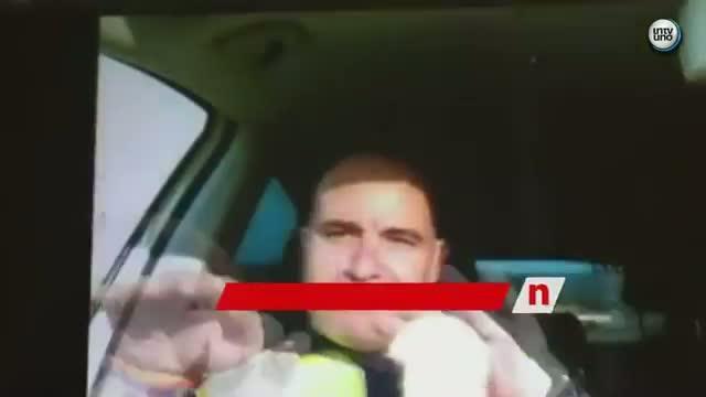 Una separación podría explicar la publicación del vídeo obsceno de dos policías