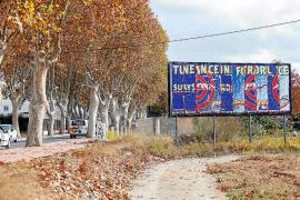El Govern prohíbe las vallas en casi todas las carreteras