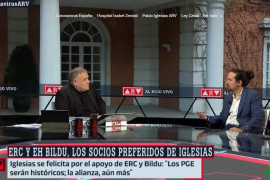 Rifirrafe entre Pablo Iglesias y Ferreras en 'Al rojo vivo': «No estoy aquí para responder preguntas»