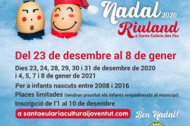 Santa Eulària, Jesús y Puig d'en Valls ofrecerán 'Escoles de Nadal'