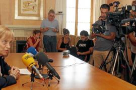 La rectora agradece la tarea policial «contra la violencia más absurda»