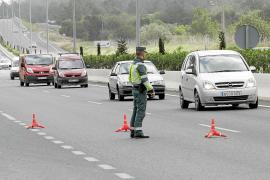 Herido grave un guardia civil atropellado por un motorista que intentó burlar el control
