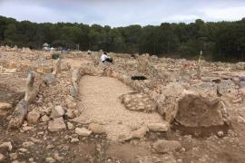 Formentera estudia la museización del yacimiento de Cap de Barbaria II