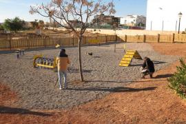 Sant Josep inaugura una nueva área canina en Can Burgos