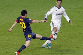 Messi y Ronaldo firman tablas