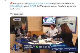 Enric Casanova (PSOE) admite el incremento de paro