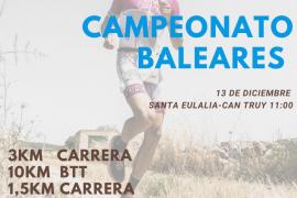 Este domingo se celebra el Campeonato de Baleares de duatlón en Can Truy