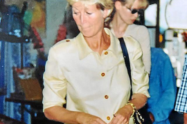 Claudia Schiffer y Gudrun, su madre