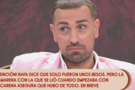 'Sálvame' acorrala a Rafa Mora al destapar una infidelidad a su novia