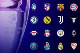 Los posibles cruces de los octavos de final de la Champions