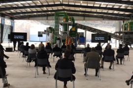 Armengol inaugura la planta de triaje de Ca na Putxa