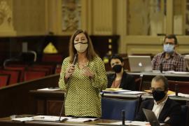 Armengol no ve desajustes entre las distintas aportaciones que recibirán Ibiza y Menorca en los Presupuestos