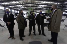 La inauguración de la planta de triaje de Ca na Putxa, en imágenes .