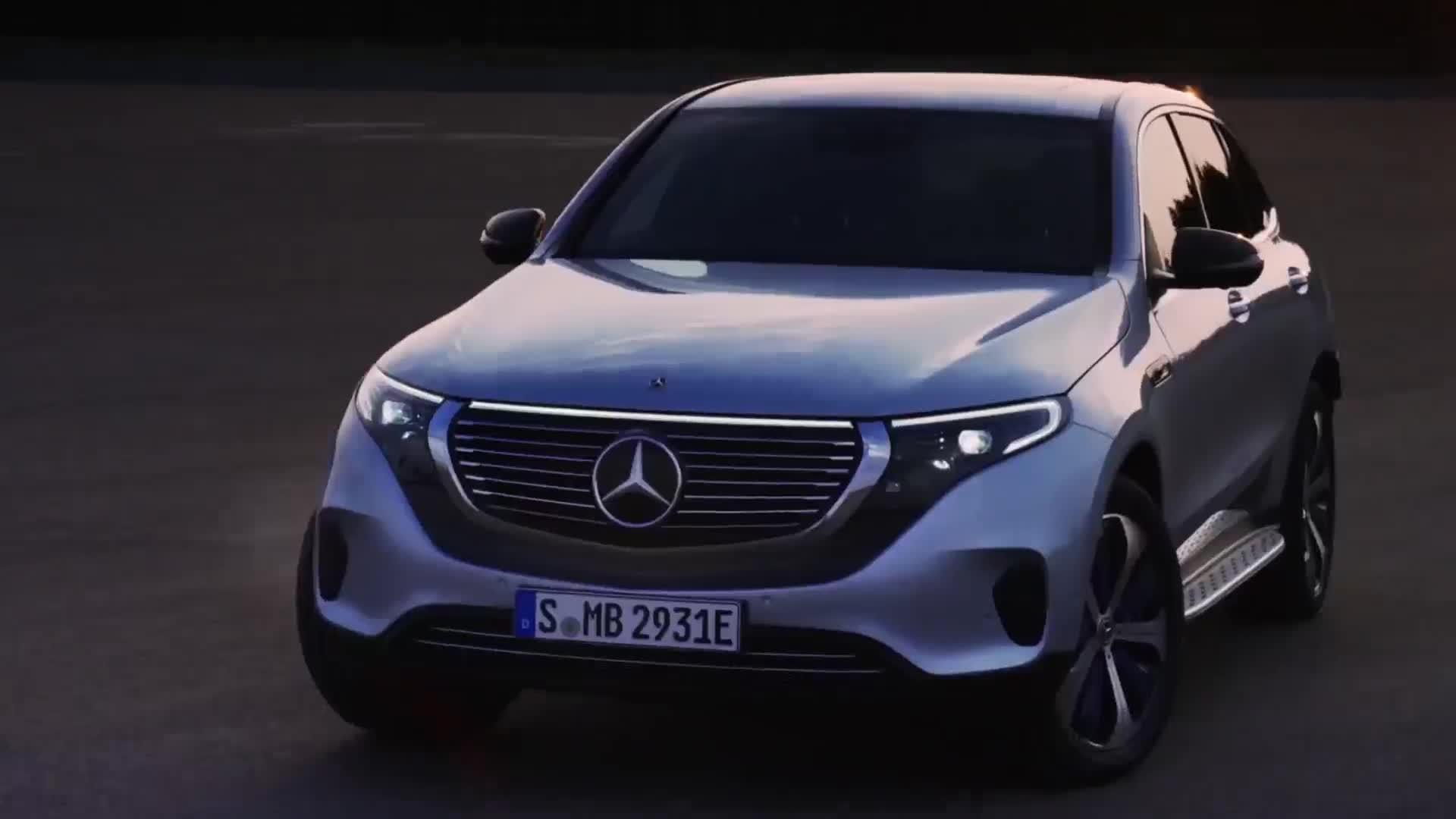 EQC 400, el primer vehículo de nueva generación totalmente eléctrico de Mercedes