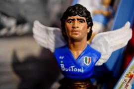 Pesebre de Maradona en San Gregorio Armeno