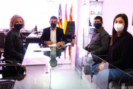 Sant Antoni y ADDIF firman un convenio para el fomento de la actividad física y el deporte inclusivo