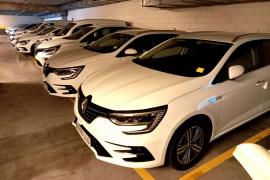 Tres coches nuevos para la Administración General del Estado en Ibiza