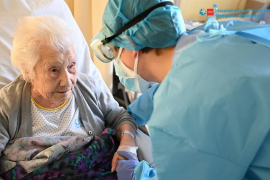 Elena, 104 años de supervivencia