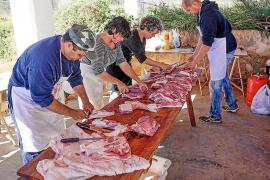 En las matanzas de Mallorca podrán participar seis personas como máximo, frente a las 10 previstas inicialmente
