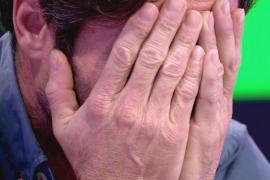 Canales Rivera se derrumba ante la 'traición' de Antonio David Flores