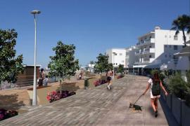 Vía libre para el inicio de la reforma del Passeig Marítim de Es Canar