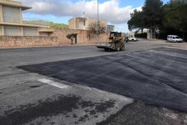 El Consell de Ibiza mejora el pavimento del Centro de Exámenes de Conducir