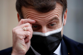 Macron, positivo por coronavirus