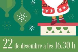 Papá Noel visitará las asociaciones de vecinos de los barrios de Vila para recibir las cartas de todos los niños