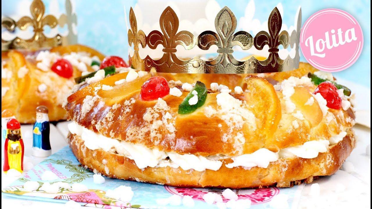 Paso a paso: roscón de Reyes tradicional con o sin nata