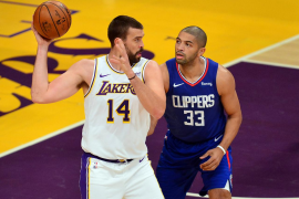 NBA: Preseason-Los Angeles Clippers at Los Angeles Lakers
