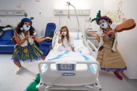 Un hospital lleno de sonrisas y alegría