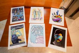 1.000 Gracias, un merecido reconocimiento con arte al personal sanitario de Ibiza