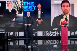 Lewandowski gana su primer 'The Best'