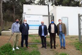 Sant Antoni renueva la red de agua potable de la zona de ses Païsses