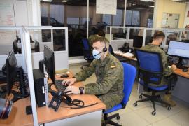 Refuerzo de 30 militares en las labores de rastreo contra la COVID en Baleares