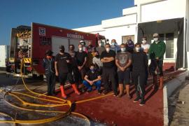 Profesionales del sector pesquero de Formentera completan el curso de formación básica de seguridad