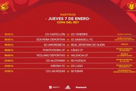 La UD Ibiza - Celta y la Peña Deportiva - Sabadell de Copa ya tienen fecha y hora