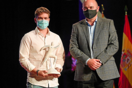Jonás Souto es nombrado el mejor deportista de Ibiza