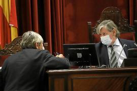 El clima crispado por la pandemia llega hasta el último pleno del Parlament balear
