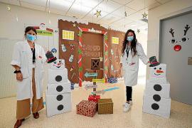 Salud Laboral, primer premio en el concurso de decoración navideña de Can Misses