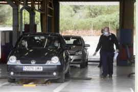 En cuarentena cinco trabajadores de la ITV de Santa Gertrudis tras registrarse un positivo de COVID