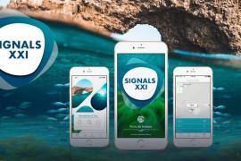 Una aplicación de la APB para navegantes alerta sobre la presencia de praderas de posidonia