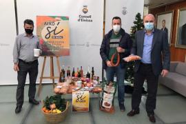 El ganador del concurso 'Sabors de Ibiza' se lleva una cesta con productos de la isla